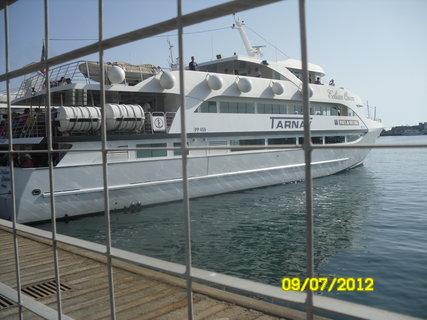 FOTKA - to je naše lod na lip.ostrovy
