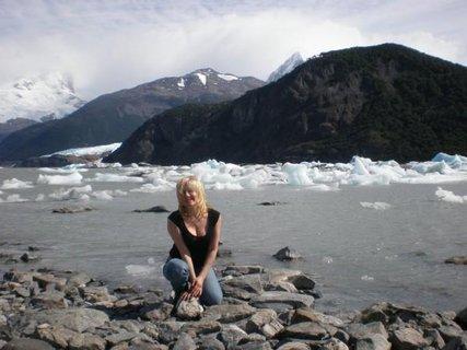 FOTKA - laguna a ledovec Onelli.