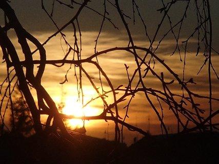 FOTKA - západ slnka 03.03.2013d