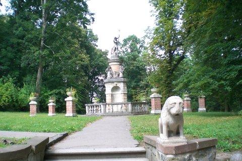 FOTKA - v zámeckém parku