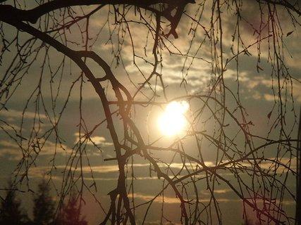 FOTKA - západ slnka 09.03.2013