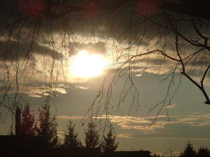 FOTKA - západ slnka 09.03.2013c