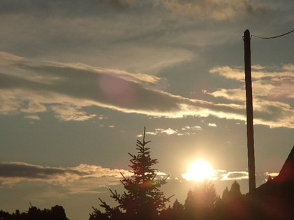 FOTKA - západ slnka 09.03.2013d