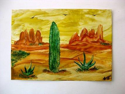 FOTKA - Kaktus v savaně