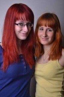 FOTKA - Dcera  s kamarádkou