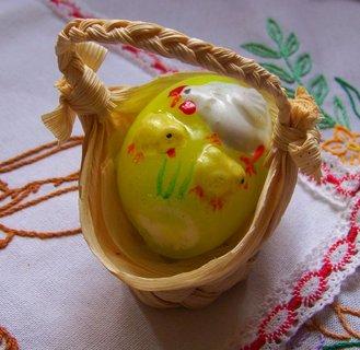 FOTKA - 30.3.2013, vajíčko v košíčku...