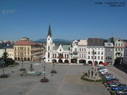 FOTKA - Slunečné velikonoční pondělí v Trutnově -důkaz webkameryry