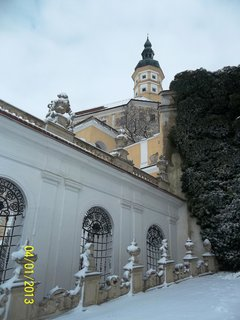 FOTKA - Velikonoce v Mikulově - cesta k zámku