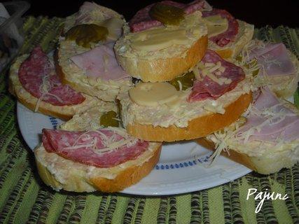 FOTKA - chlebíčky z domácí veky