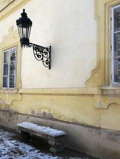 FOTKA - Valtice,Velikonoce 2013-zámecká lavička