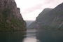 průjezd fjordem