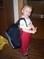 Adélka s batohem