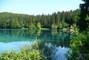 jezero v Julských Alpách-Itálie