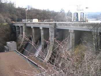 FOTKA - hráz přehrady