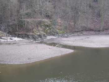 FOTKA - vypuštěná přehrada 2008