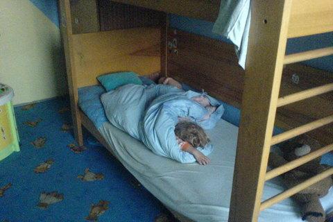 FOTKA - Ondra spí