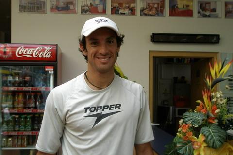 FOTKA -  Tenisový turnaj UniCredit Czech Open  2008 Prostějov