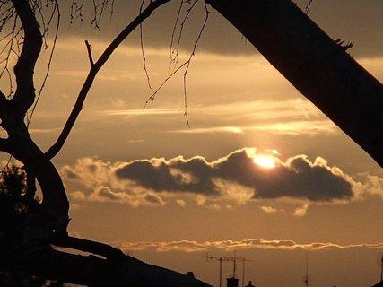 FOTKA - západ slnka 20.03.2013