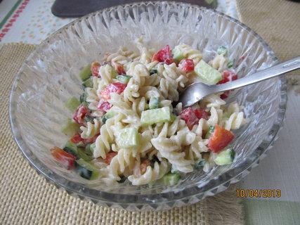 FOTKA - Těstovinový salát