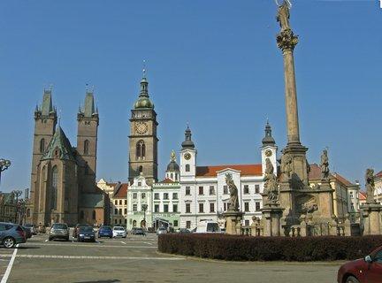 FOTKA - Hradecké věže za krásného jarního dne