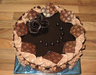 FOTKA - Čokoládový dortík k narozeninám