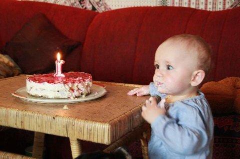 FOTKA - První narozeniny 1