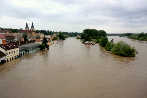 FOTKA - Voda ještě nedosáhla kulminace