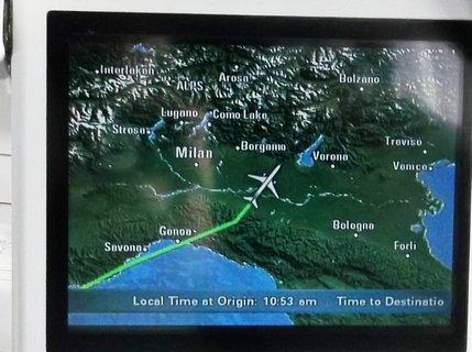 FOTKA - letíme nad Itálií .