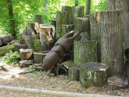FOTKA - dřevěný roháč