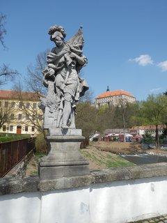 FOTKA - na mostě v Náměšti nad Oslavou