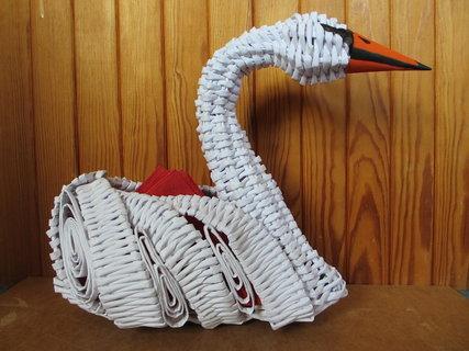 FOTKA - labuť - stojan na ubrousky
