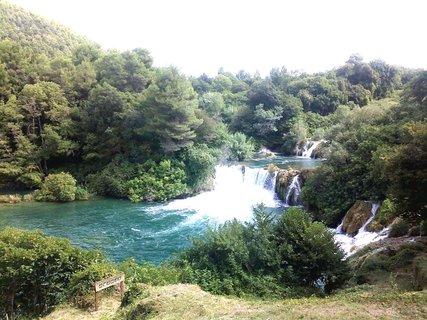 FOTKA - Vodopády Krka