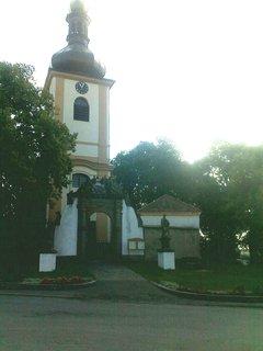 FOTKA - Kostel v Pičíně (okres Příbram)