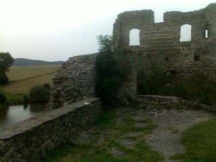 FOTKA - Zřícenina hradu Borotín (okres Tábor)