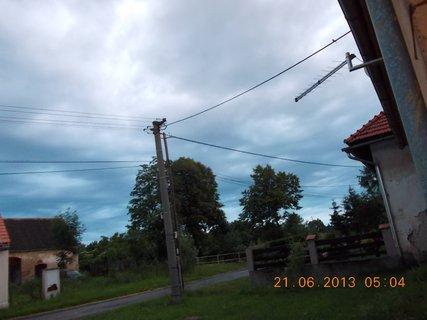 FOTKA - První letní den - 8 - nebe při bouřce a dešti