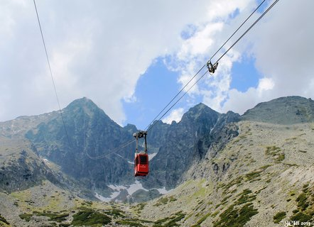 FOTKA - Lanovka na Lomnický štít - Vysoké Tatry