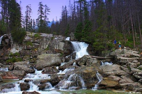 FOTKA - Vysoké Tatry - vodopád