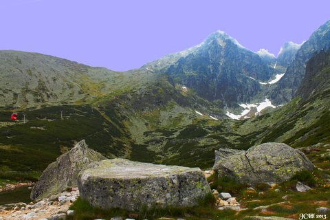 FOTKA - Vysoké Tatry - Lomnický štít