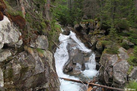 FOTKA - vodop�dy ve Vysok�ch Tatr�ch