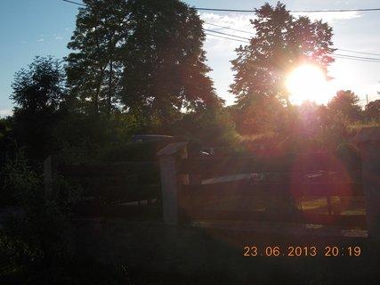 FOTKA - 23 - 24.6 - léto - 9 - západ sluníčka
