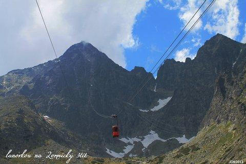 FOTKA - toulky Tatrami - lanovkou na Lomnický štít
