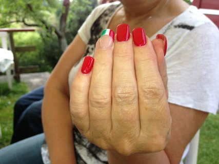 FOTKA - manikura na dovolenou do Italie:-)