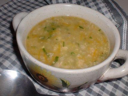 FOTKA - Vločková polévka s vejci