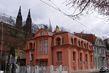 Kubismus v Praze (trojdům Rašínovo nábř..) arch.Jos.Chochol