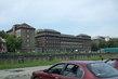 Budova Soudu ze strany od Ostravice