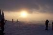Beskydy západ slunce