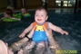 Nikolka v bazénu