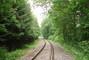 Železniční koleje u Kuchaře