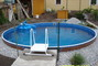 náš nový bazenek