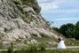 arboretum Štramberk - ženich a nevěsta ve fotografii
